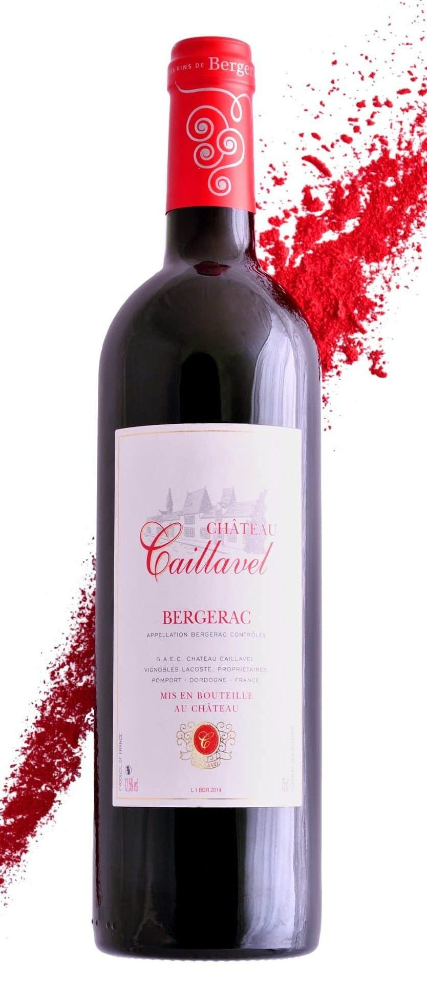 Bergerac Rouge Château Caillavel Page Accuei